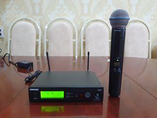 Shure SLX24 Beta 58A Microfon vocal. Original! Frecvente bune!