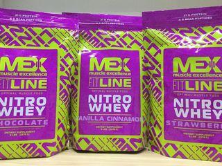 596 лей за 2,270 гр Сывороточного Протеина от Mex Nutrition U.S.A.