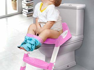 Fotoliu-adaptor WC pentru copii. Nou! Livrare gratuită! Priviți video!