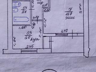 Продаем 1-комнатную квартиру в г. Рыбница по ул.Юбилейная возле остановки=$5500