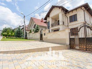 Rîșcani! casă de lux, 4 camere spațioase, fasada piatră naturală! 360 mp, 6 ari!