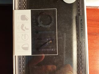 Husa Samsung Galaxy Note 9 Nillkin Qin (Black), noua, 220 mdl.