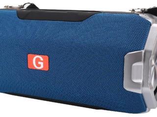 Boxă portativă Bluetooth Helmet HRW-G30, Blue