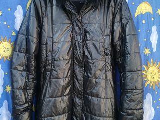 зимняя куртка на меху б/у