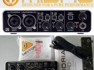 Студийная звуковая карта(новая в упаковке)