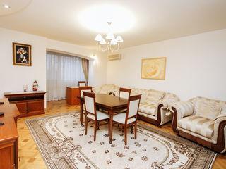 Vânzare apartament cu 3 dormitoare + living, reparație euro, bloc exclusiv, sect. Centru, N. Iorga!