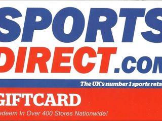 Продаю гифт sportsdirect.com  70%  от стоимости.Vind gift sportsdirect.com 70% din pret