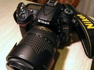 Nikon D7200 cu obiectiv Nikor 18-140