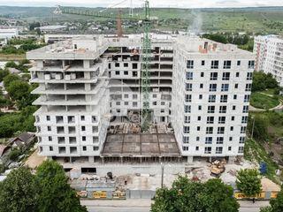 Basconslux - 2 camere+living, 63 mp, versiune albă, Strășeni 37350 €