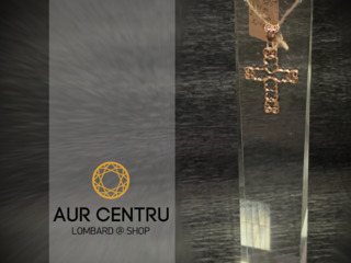 Cruce de aur золотой крестик culon кулон
