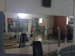 Зеркальные стены б/у для фитнесса, тренаж.зала и танц.класса