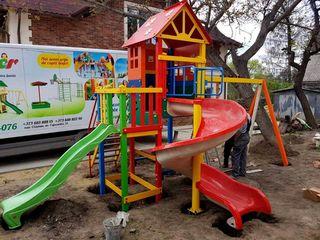 Купить и оборудовать детскую игровую площадку без посредников можно с Copfer! Teren de joaca!