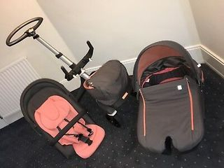 Stokke V5  3 in 1 coral limited edition 2018 stare perfecta