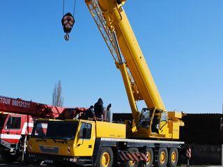 Автокраны 30-130 тонн, длина стрелы до 78 М.