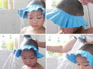 Palarioara protectie ochi bebe/copii baie!