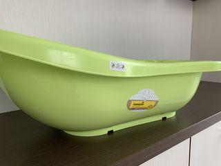 Ванночка с матрасиком для купания в идеальном состоянии