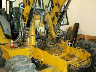 Reparatie buldoexcavatoare komatsu jcb fiat hiatchi etc