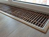 Vemtiloconvectoare in podea cu schimbător de căldură