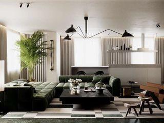 Apartament de LUX cu 3 camere și living - 120 mp!
