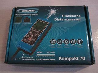 Дальномер лазерный GROSS Kompakt 70