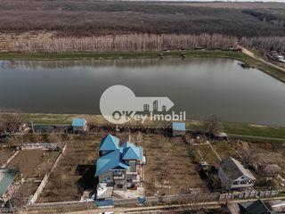 Casă 4 nivele lângă lac, 25 ari, regiune liniștită, Hrușova - Criuleni, 90000 €