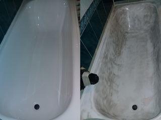Реставрация ванн жидким акрилом restaurarea cazilor de baiie