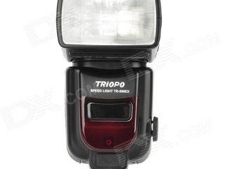 1149 lei - Triopo TR-586EX - (Canon / Nikon), Новая, Качественный аналог Nikon SB900, Canon EX580