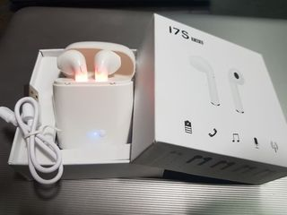 Беспроводные наушники I7S TWS Bluetooth Airpods Iphone