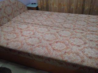 Двуспальная кровать в хорошем состоянии. Ботаника