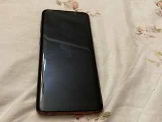 Samsung S9 red burgundy