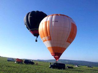 Card cadou pentru zbor cu balonul