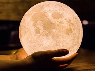3 d светильник луна-идеальное решение для подарка!