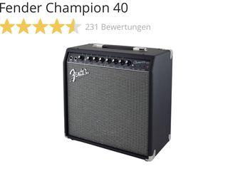 Fender Champion 40, Гитарный комбик nou din germania