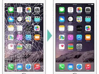 Schimbarea sticlei la iPhone