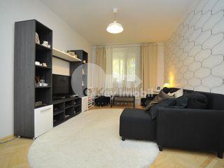 Apartament cu 3 camere, reparație euro, 83 mp, Buiucani, 55000 €