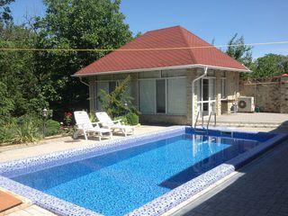 Капитальный дом с бассейном, сауной и просторной беседкой в  Вадул луй Водэ. 7 соток!!!