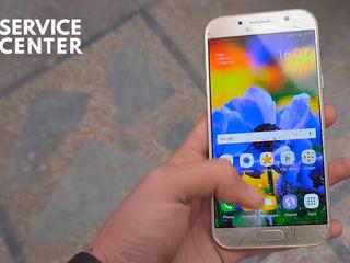 Samsung Galaxy A7 2017 (SM-A720FZKDSEK)  Sticla sparta – noi o inlocuim indata!