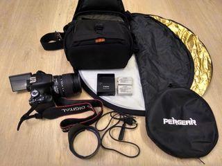 Продам Canon EOS 600D + объектив Canon EF-S 15-85 mm f/3.5-5.6 IS USM - 400 евро