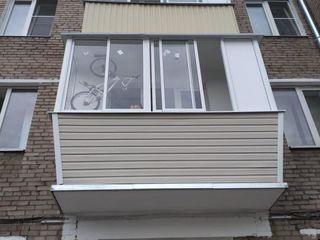 """Остекление  балконов и лоджий с отделкой """"под ключ"""""""