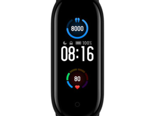 Bratara Inteligenta Xiaomi Mi Smart Band 5, Black