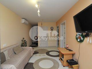 Apartament cu 2 camere, reparație euro, 56 mp, Durlești, 41900 € !
