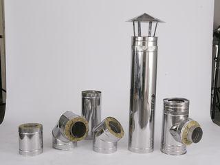 Coş de fum inox (Дымоходы из нержавеющей стали)