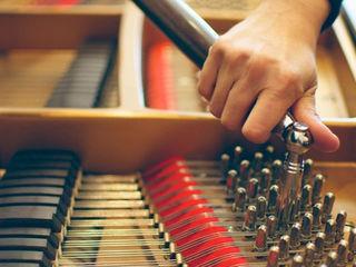 Настройка ремонт пианино и роялей..
