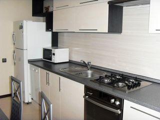 Centru, Petru Movila, apartament cu 2 odai,casa noua, mobilat+ toata tehnica-  500 euro