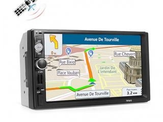 Magnitola 7010g 2din ecran tactil 7inch gps europe + sd card 8gb cadou. credit!