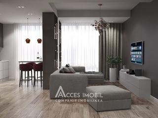 Penthouse în 2 nivele! Ialoveni, str. Al. cel Bun, 2 camere + living. Terasă!