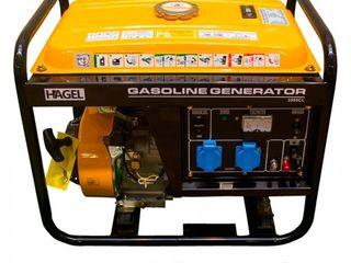 Генератор бензиновый 2.8кВт 220В HAGEL 3500CL/Generator/Benzin/2,8kwt, Livrare/Garantie/Rate 0%/