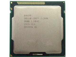 Процессор 4 ядра Intel Core i5-2400 3.10GHz LGA1155 - 590 лей и другие LGA1155