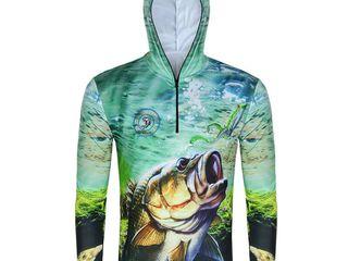 Солнцезащитная футболка для рыбалки