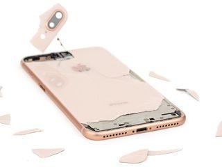 Замена заднего стекла iphone 8---  Xsmax